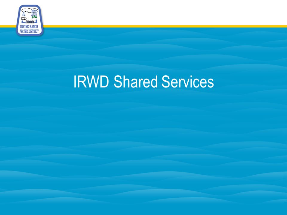 IRWD Shared Services