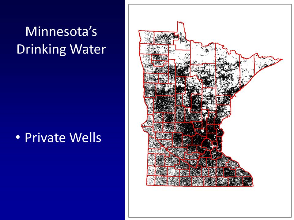 Private Wells Minnesotas Drinking Water