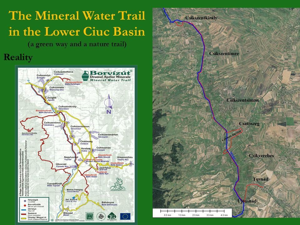 The Mineral Water Trail in the Lower Ciuc Basin (a green way and a nature trail) Reality