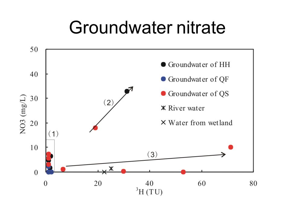 Groundwater nitrate