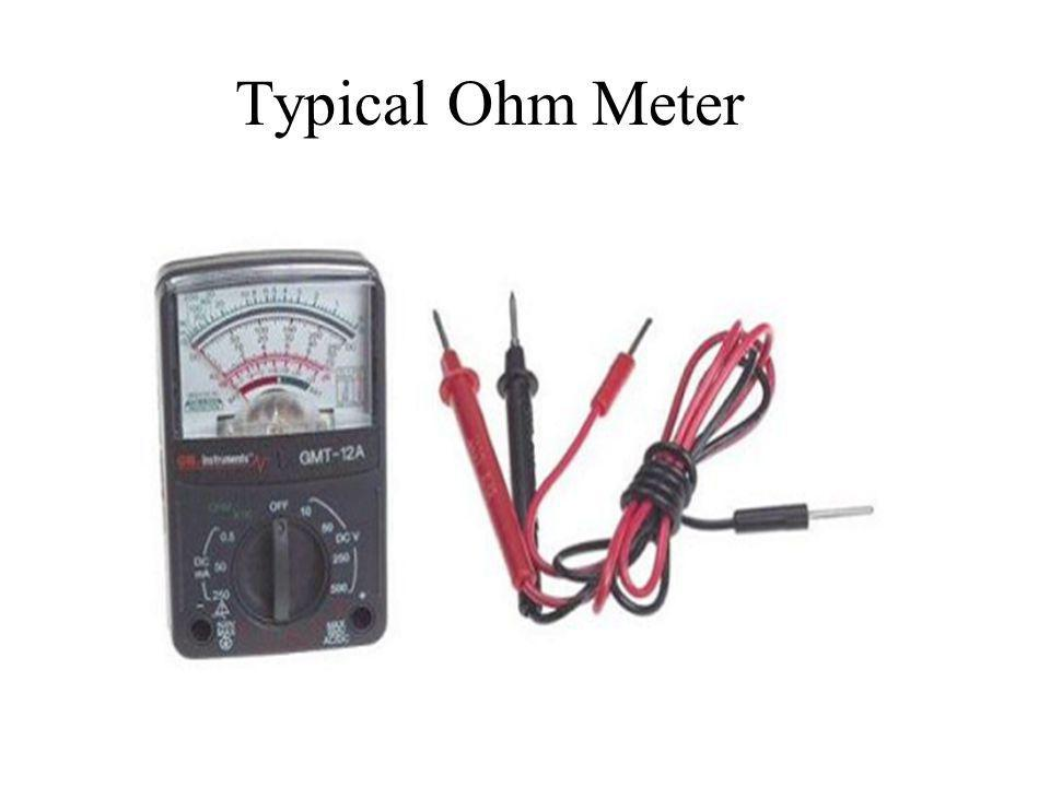 Typical Ohm Meter