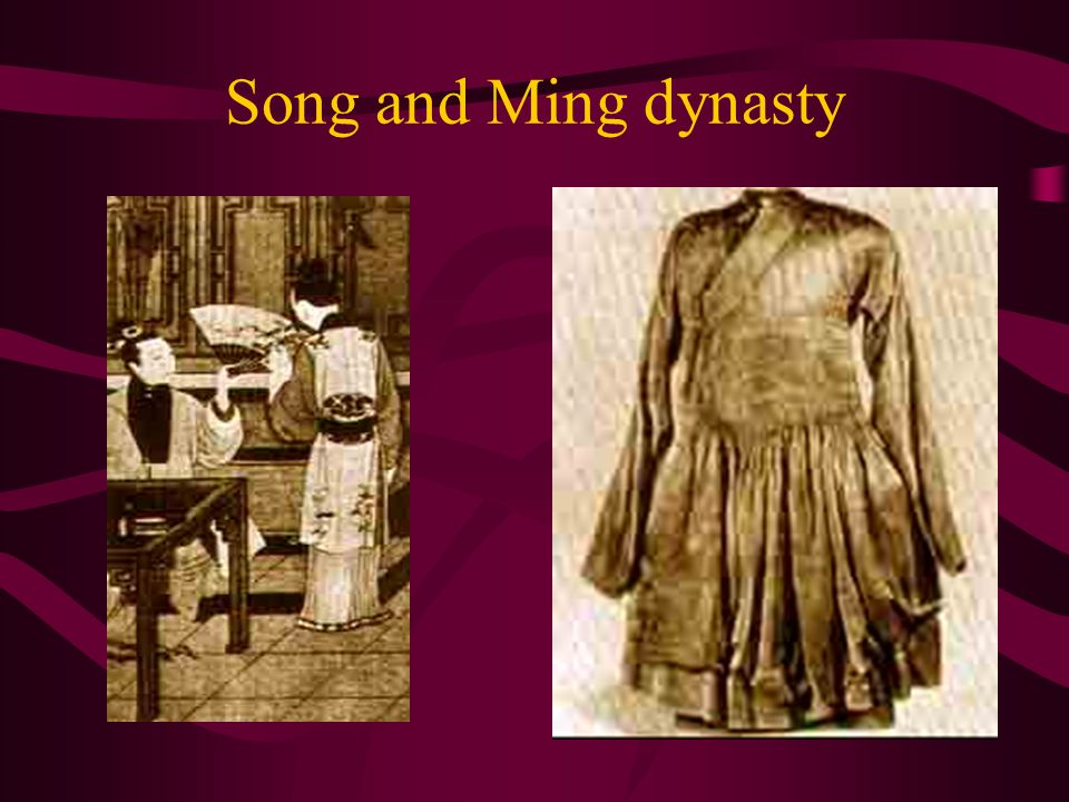 Song and Ming dynasty