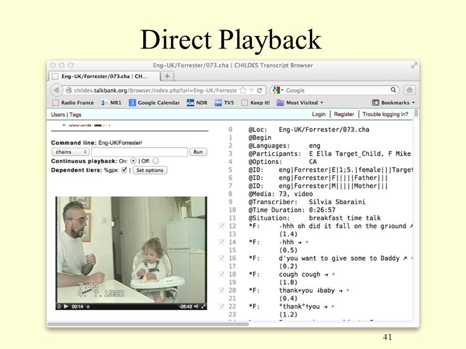 41 Direct Playback