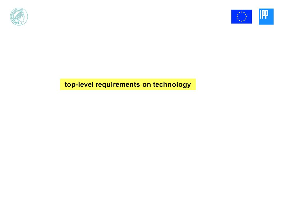 top-level requirements on technology