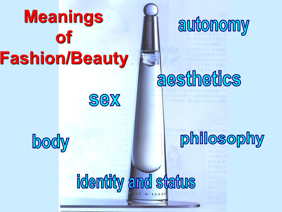 MeaningsofFashion/Beauty