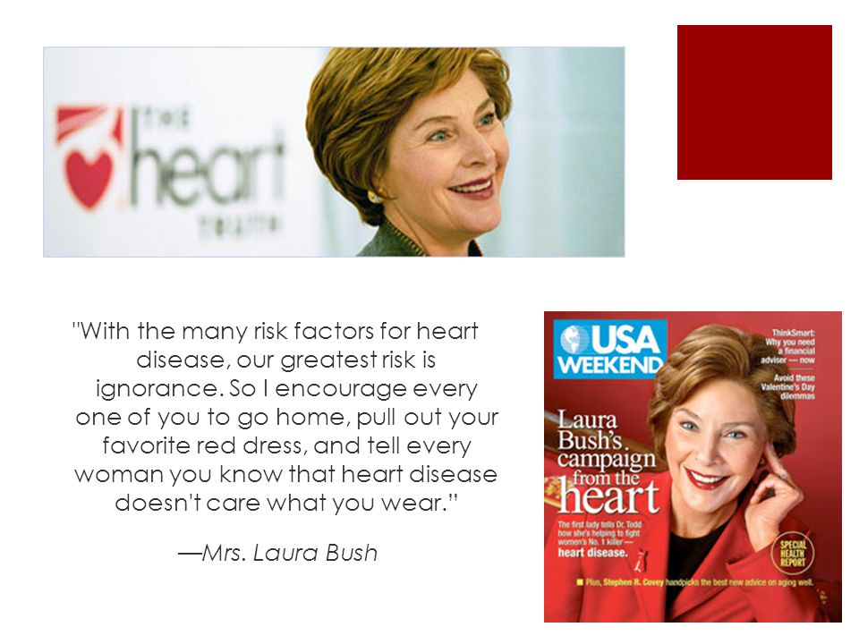 With the many risk factors for heart disease, our greatest risk is ignorance.
