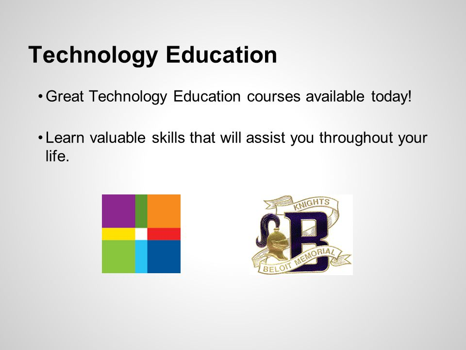Technology Education Great Technology Education courses available today.