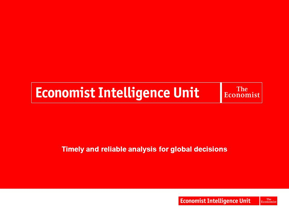 Timely and reliable analysis for global decisions
