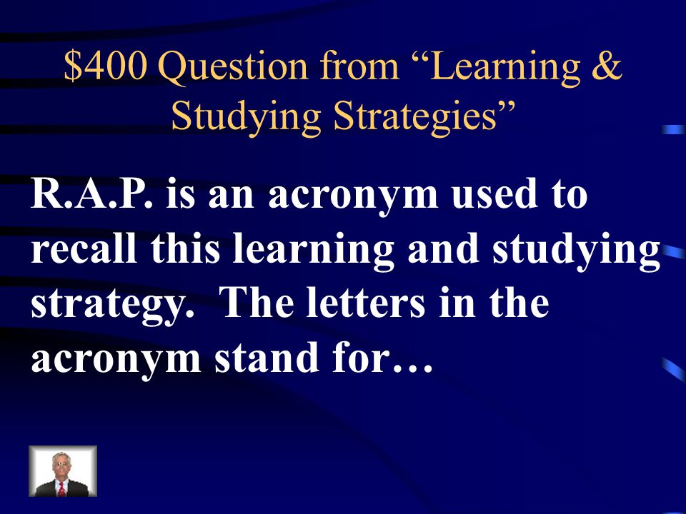 $300 Answer from Learning & Studying Strategies What are Costas Levels of Questioning