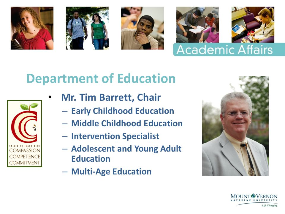 Department of Education Mr.