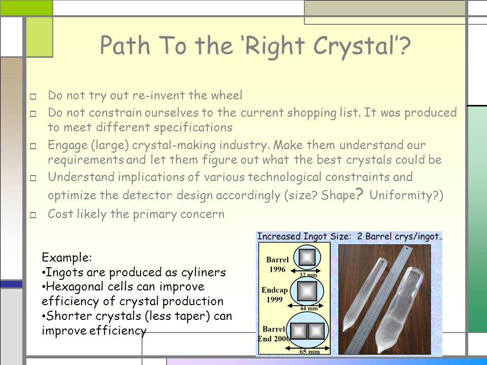 Path To the Right Crystal.