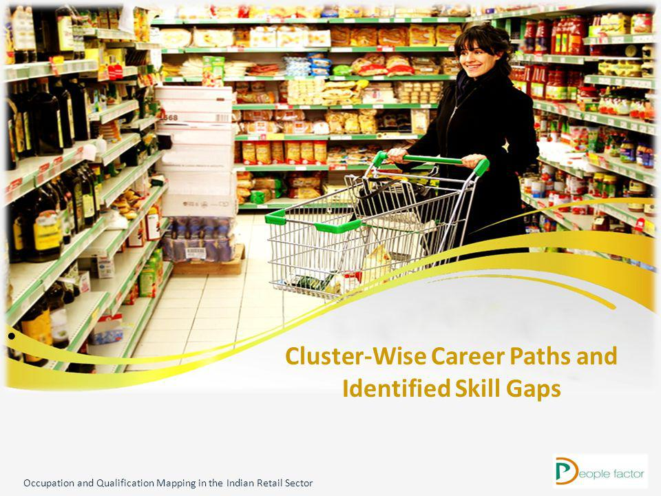 Cluster-Wise Career Paths and Identified Skill Gaps Occupation and Qualification Mapping in the Indian Retail Sector