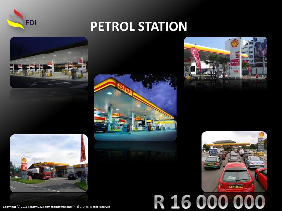 PETROL STATION Copyright (C) 2011 Feasey Development International (PTY) LTD. All Rights Reserved