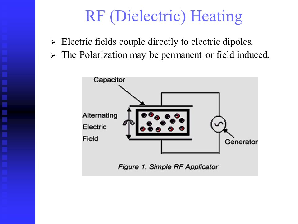 Electric fields couple directly to electric dipoles.