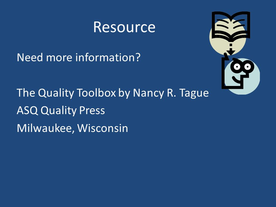Resource Need more information. The Quality Toolbox by Nancy R.