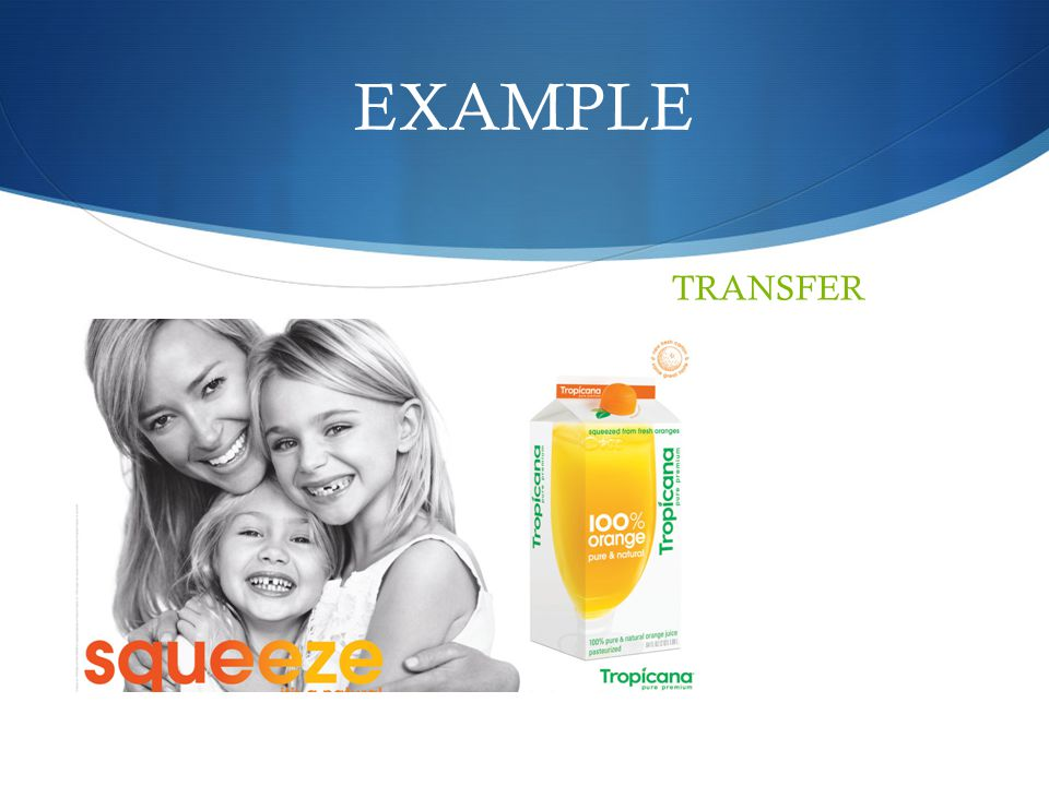 EXAMPLE TRANSFER