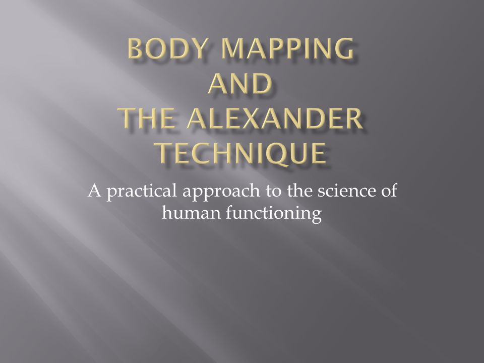 A practical approach to the science of human functioning