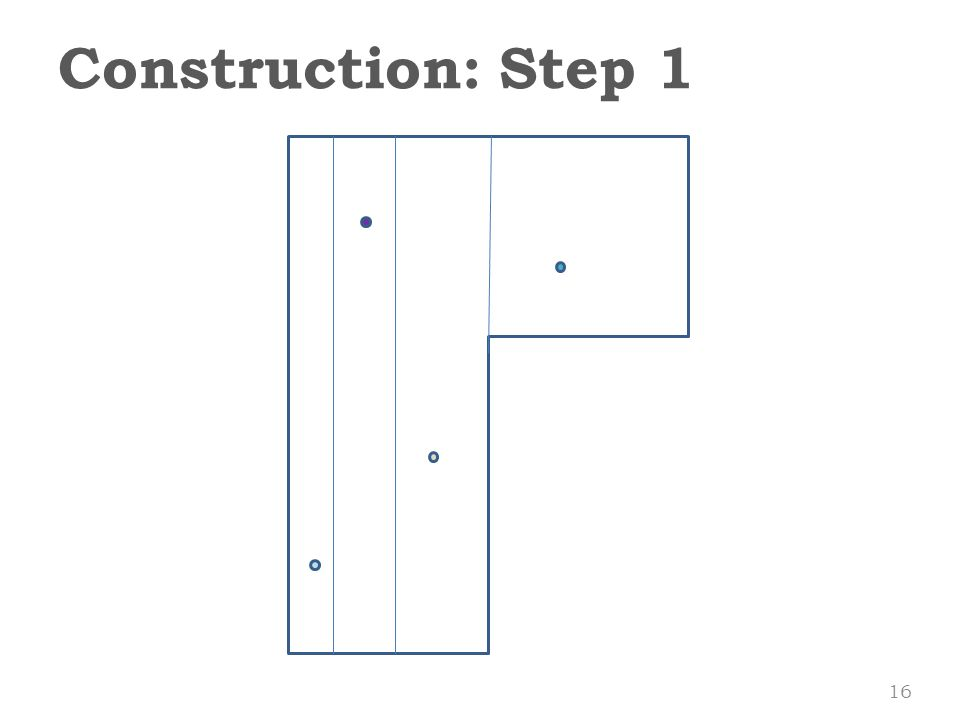Construction: Step 1 16