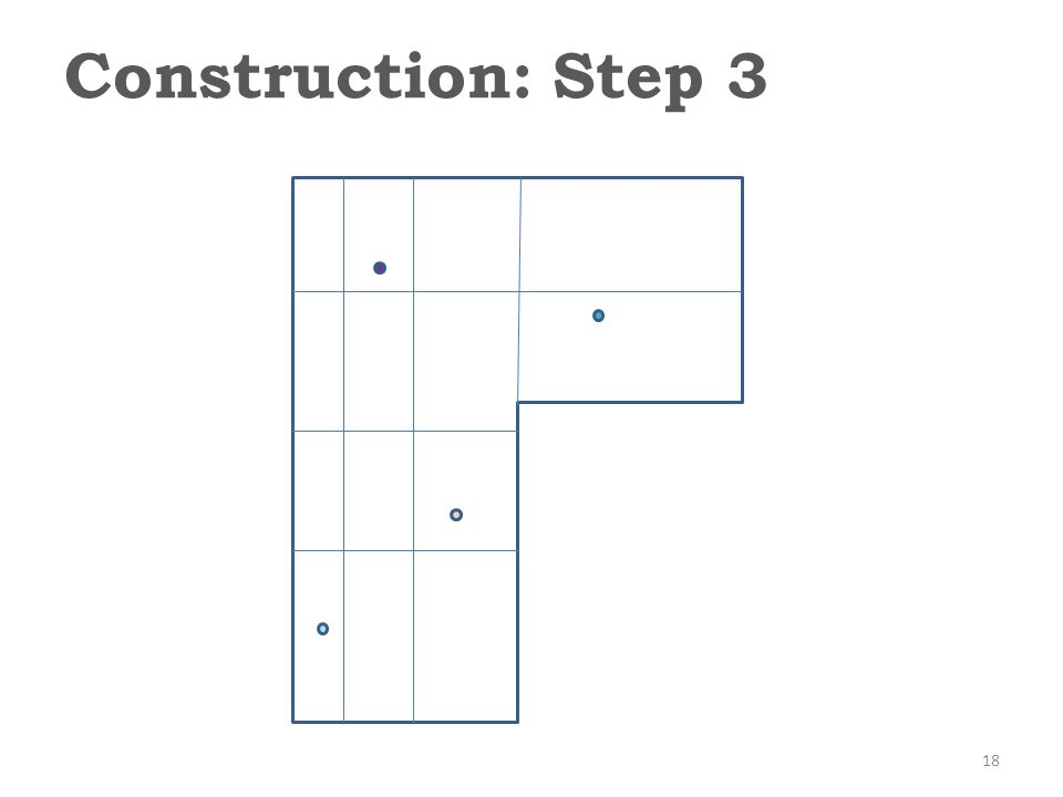 Construction: Step 3 18