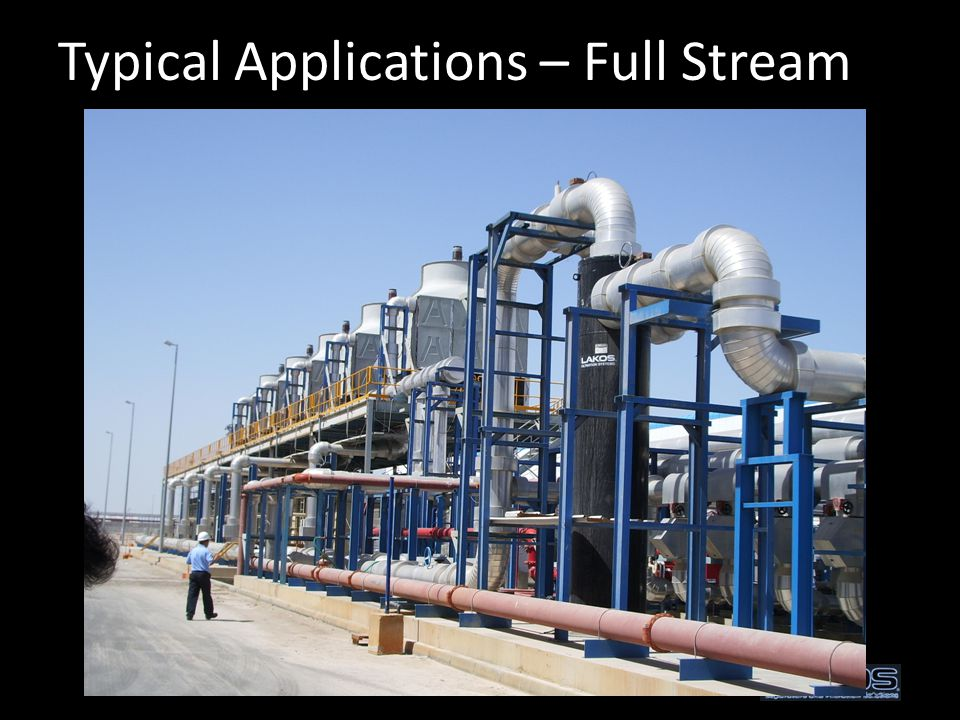 Typical Applications – Full Stream