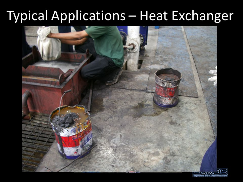 Typical Applications – Heat Exchanger