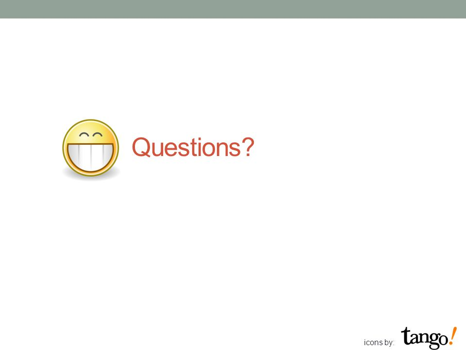 Questions icons by: