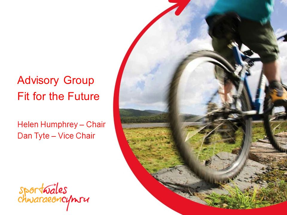 Helen Humphrey – Chair Dan Tyte – Vice Chair Advisory Group Fit for the Future