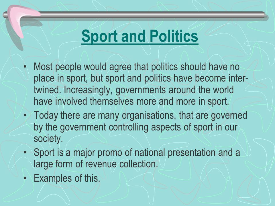 relationship between sport and society