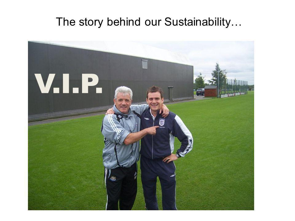The story behind our Sustainability… V.I.P.