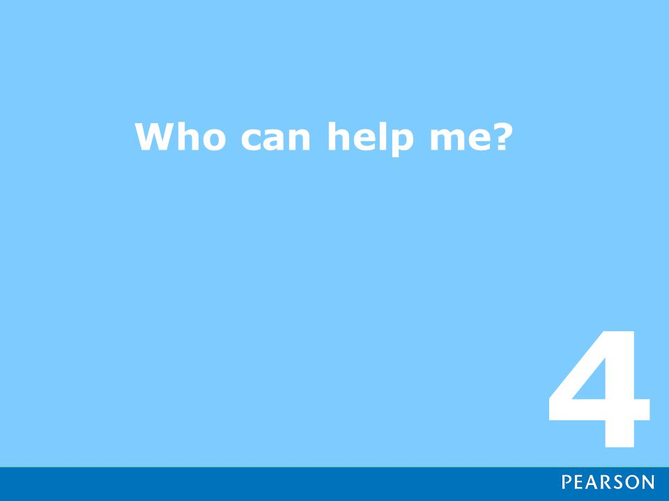 Who can help me 4