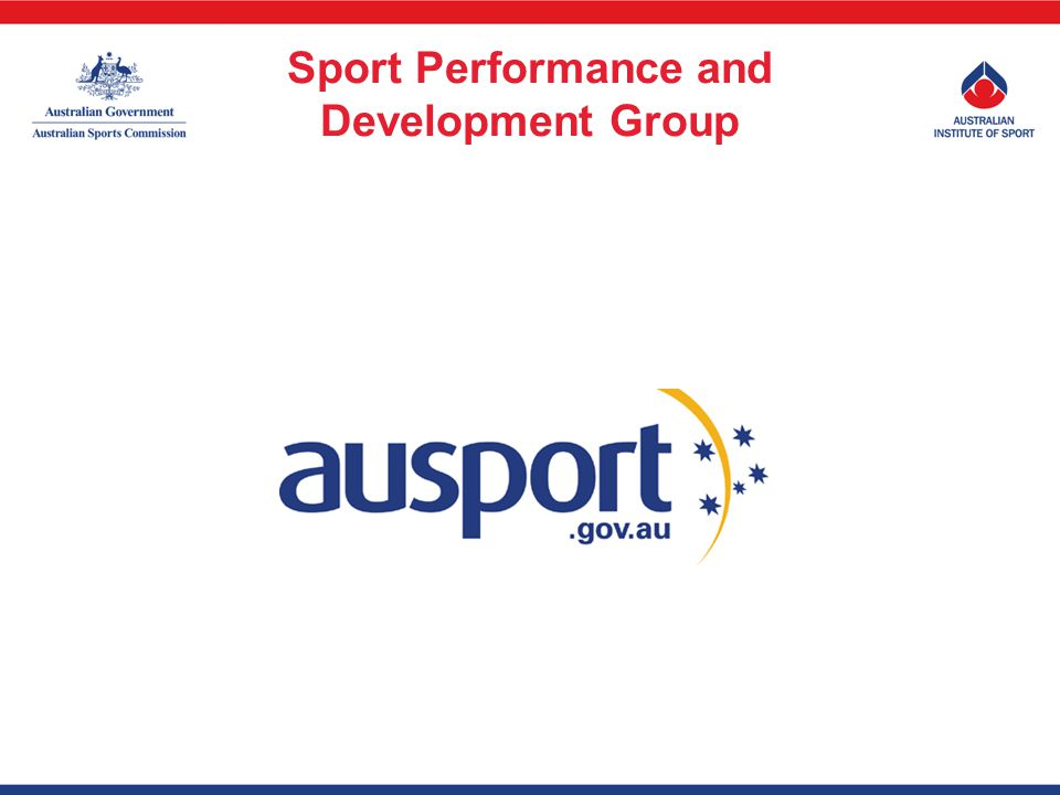 Sport Performance and Development Group