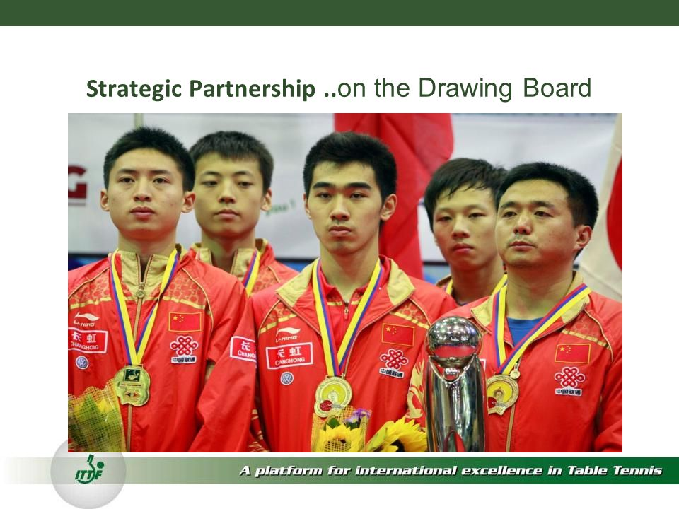 Strategic Partnership.. on the Drawing Board