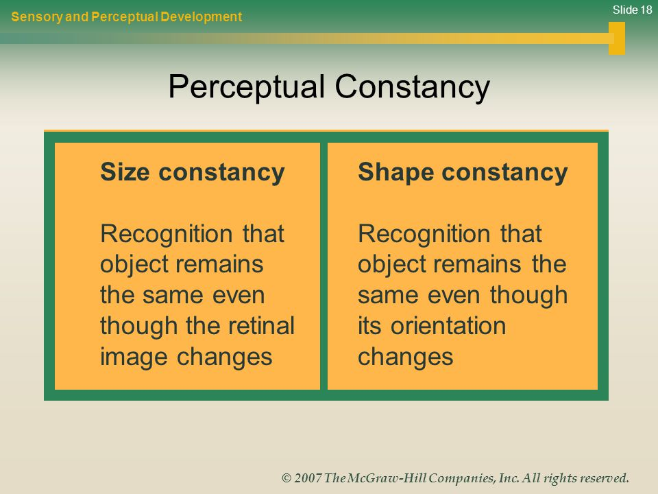 Slide 18 © 2007 The McGraw-Hill Companies, Inc. All rights reserved.