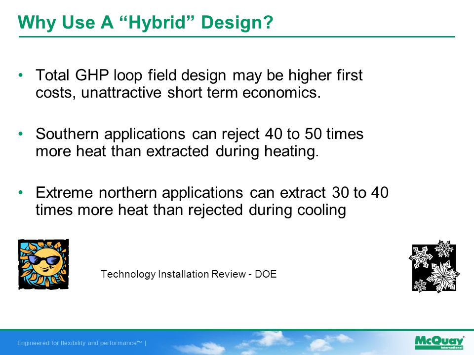 Engineered for flexibility and performance | Why Use A Hybrid Design.