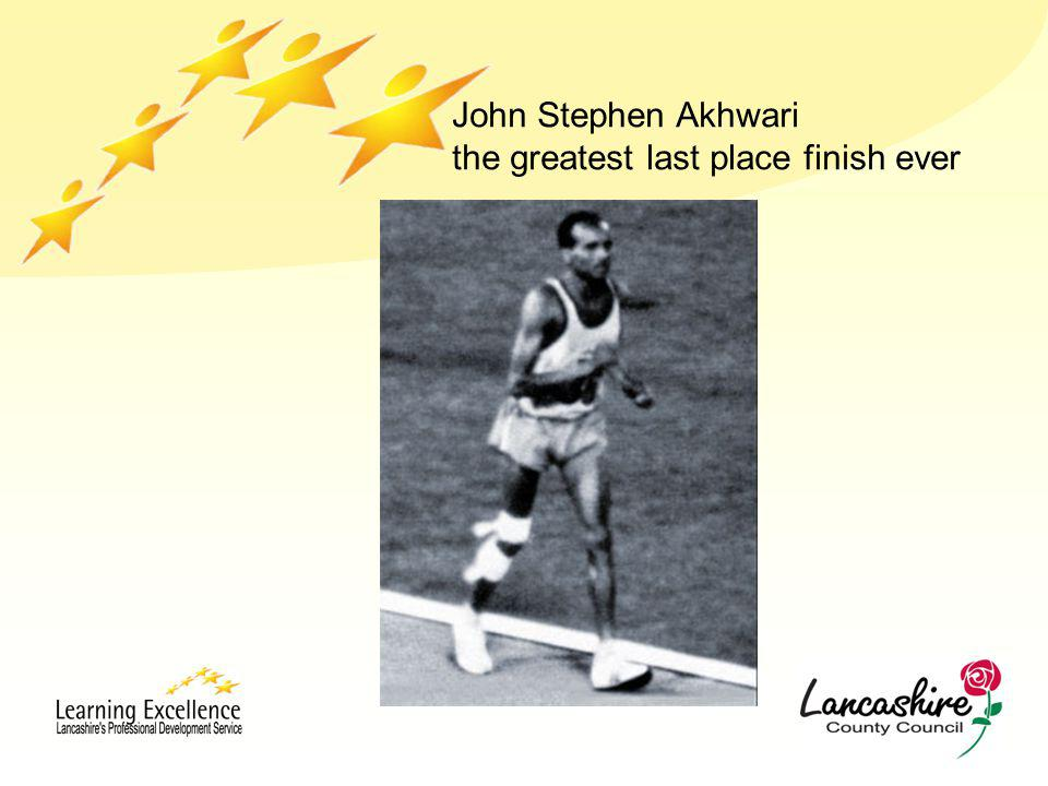 John Stephen Akhwari the greatest last place finish ever