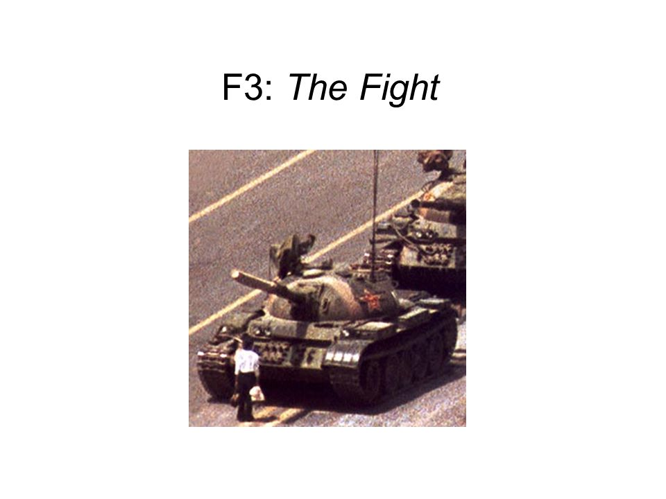 F3: The Fight