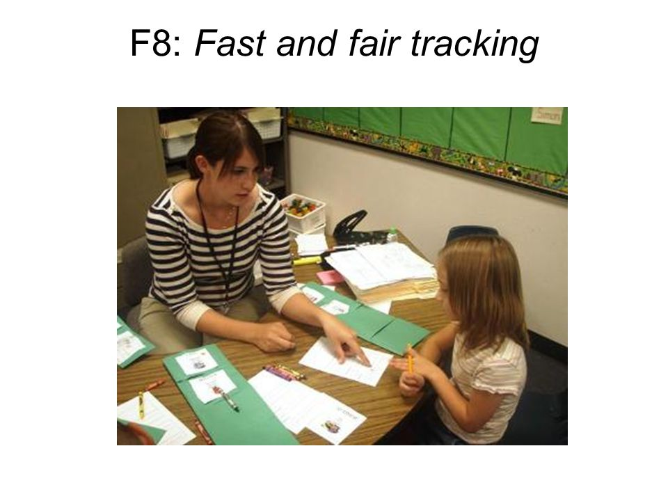 F8: Fast and fair tracking