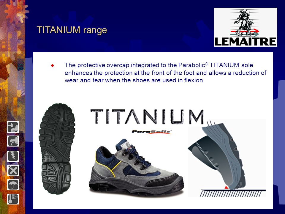 OUTDOOR range A true revolution, this sole with a Parabolic ® profile is the result of numerous developments.