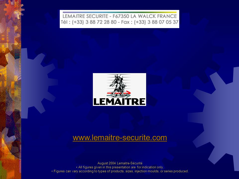 Standards Lemaitre Sécurité manufacture products complying with European standard EN 344-1.