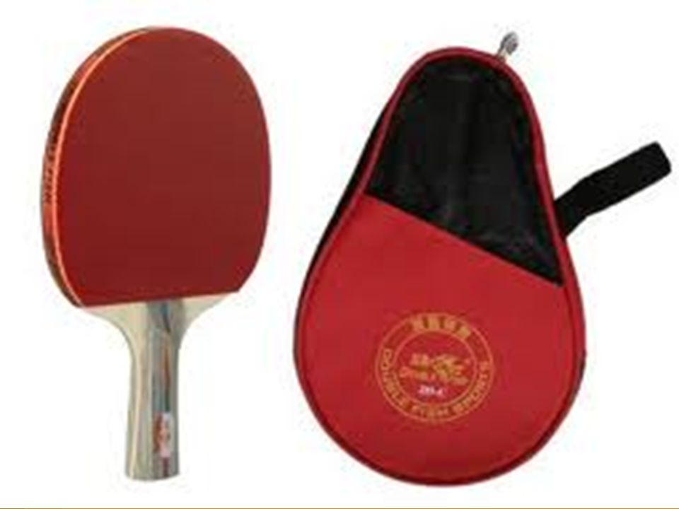 Racket may be of any size, shape and weight. The blade must be flat and rigid.