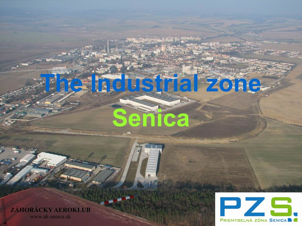 The Industrial zone Senica