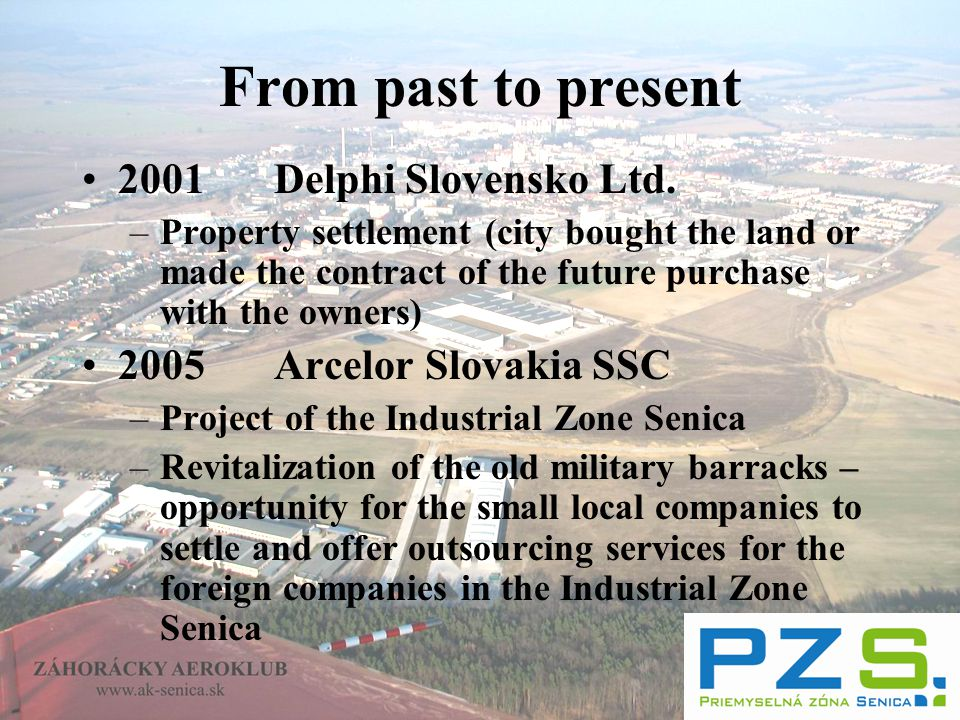 From past to present 2001Delphi Slovensko Ltd.