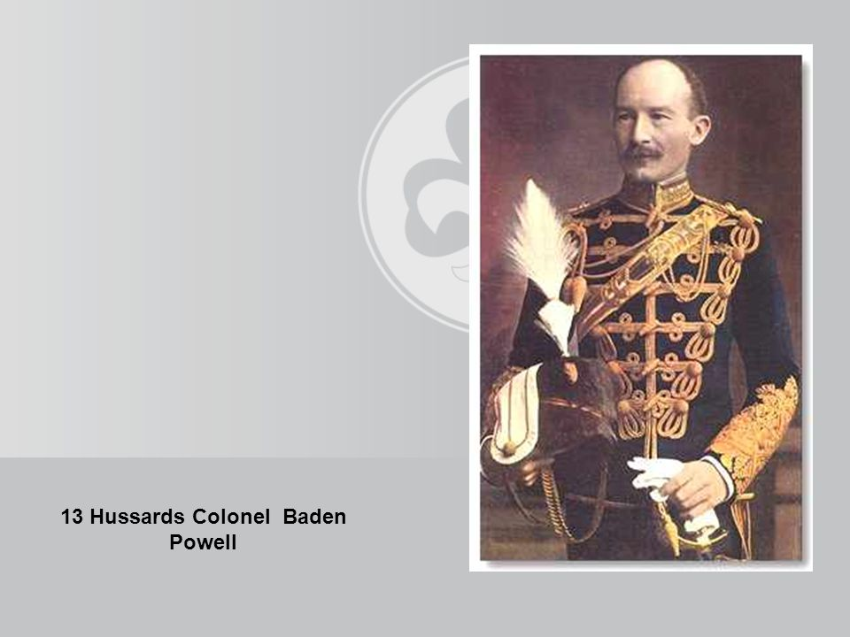 13 Hussards Colonel Baden Powell