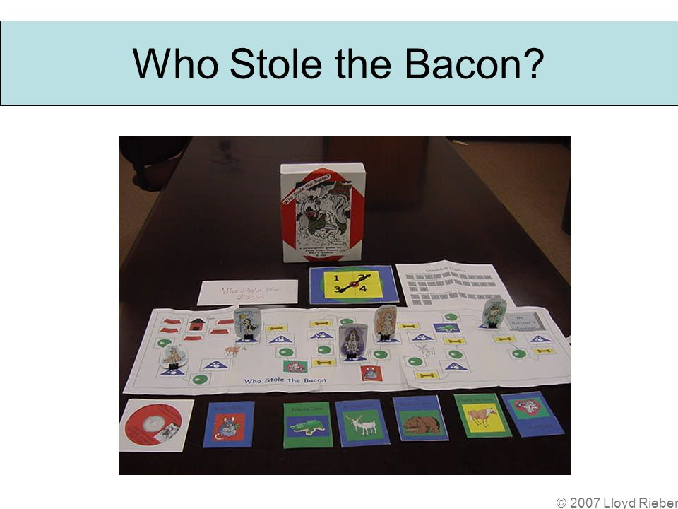 Who Stole the Bacon