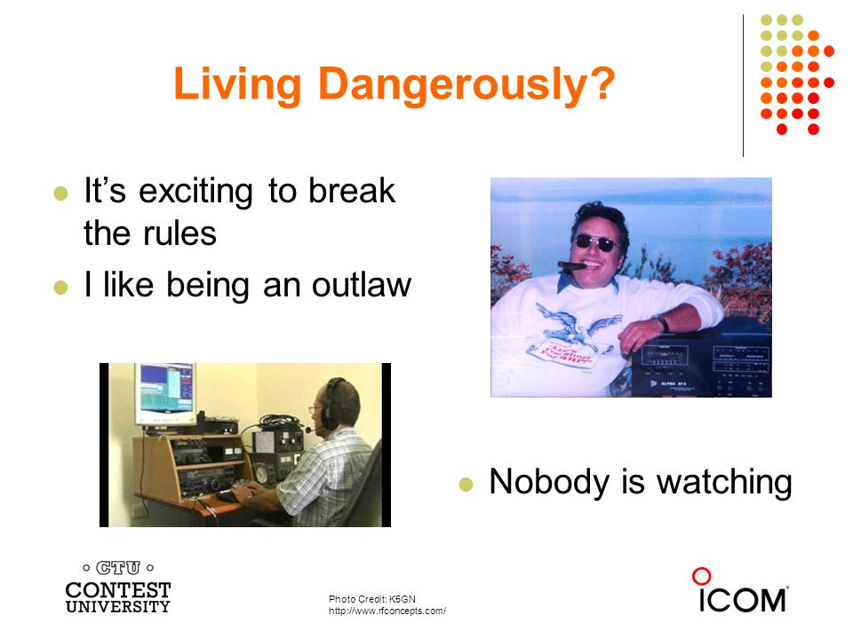 Nobody is watching Living Dangerously.