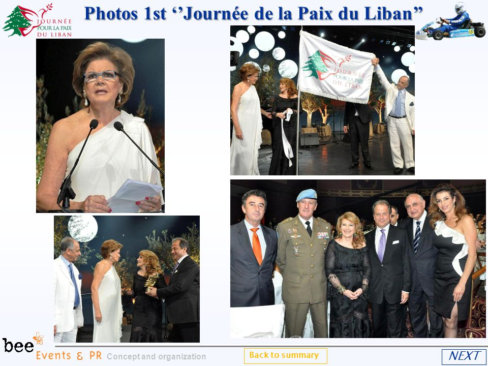 Back to summary Concept and organization NEXT Photos 1st Journée de la Paix du Liban Photos 1st Journée de la Paix du Liban