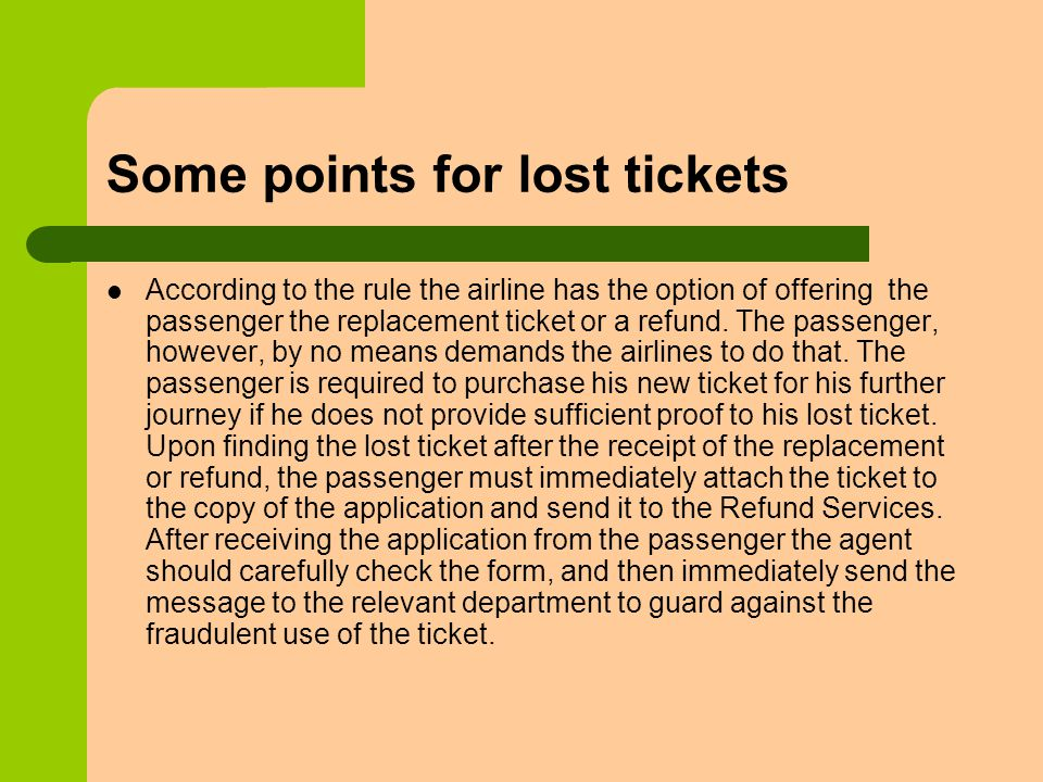 Unit 11 Lost Ticket and Refund  Part One: Warming-up 1  Do