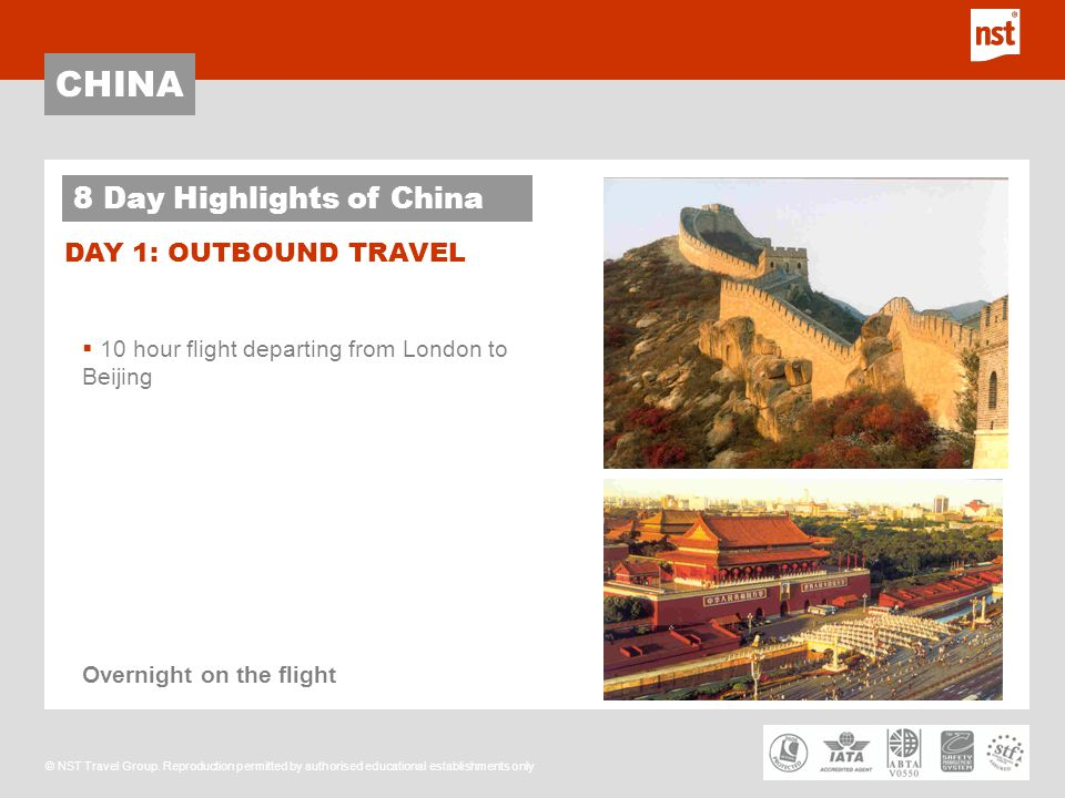 CHINA © NST Travel Group.