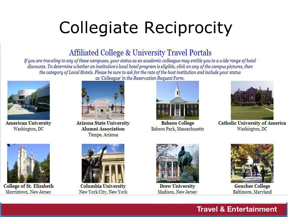 Collegiate Reciprocity