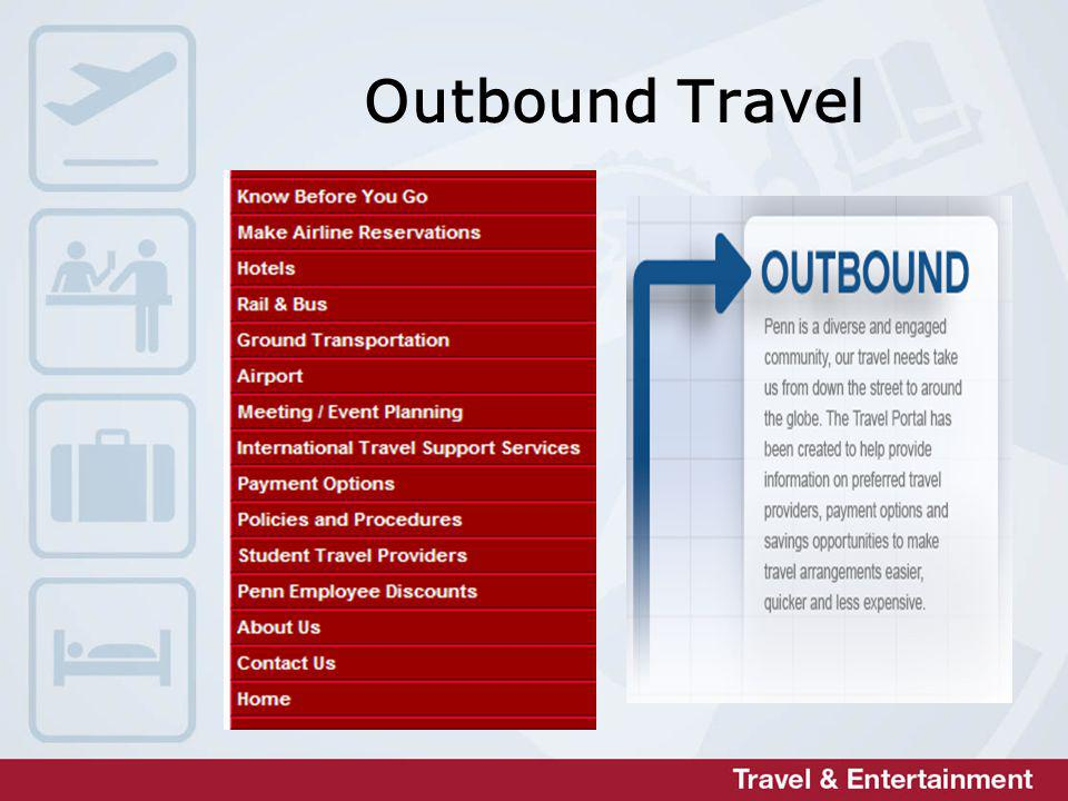 Outbound Travel